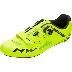 Northwave Core Plus Scarpe Uomo, yellow fluo
